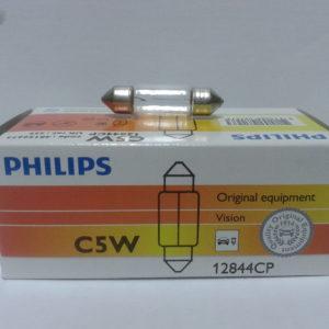 Лампа накаливания C5W 12V PHILIPS