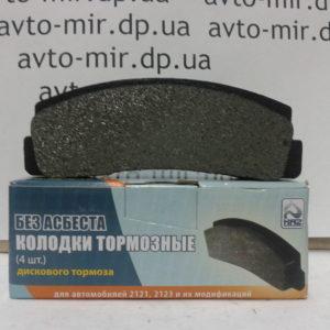 Колодки переднего тормоза ВАЗ 2121, 2123 КА-2