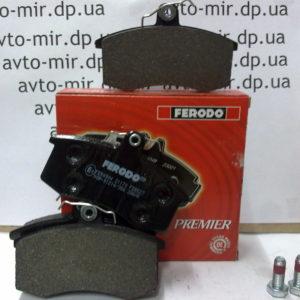 Колодка переднего тормоза ВАЗ 2108-09, 2110-2170 Ferodo
