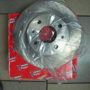 Диск тормозной передний ВАЗ 2110-2112,1118 R13 Ferodo номер: DDF1142