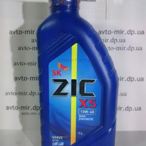 Масло моторное X5 10w40 1л Zic