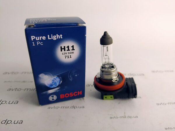 Лампа галогенная H11 Bosch