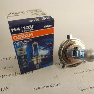 Лампа галогенная H4 60/55W Cool Blue Osram