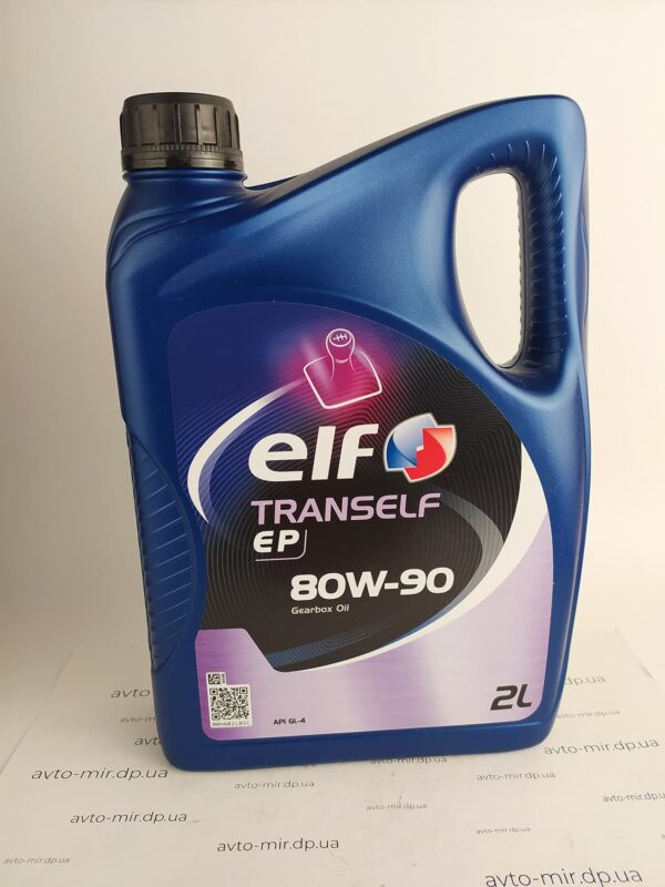 Масло трансмиссионное GL-4 80W-90 2л Elf
