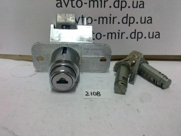 Замок багажника 2108-2109, 2113-2114 с ключами и личинками ДААЗ