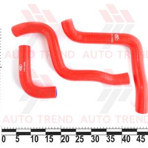 Патрубки радиатора охлаждения ВАЗ 2170-72 силикон ПТП