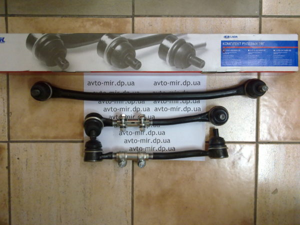 Комплект тяг рулевой трапеции 2101-07 ВИС