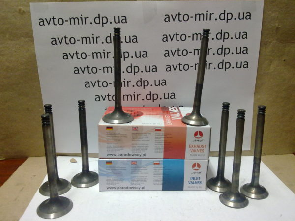 Клапаны ВАЗ 21083 1500см³ AMP
