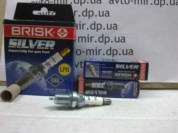 Свечи зажигания ВАЗ 2110-2112 (16кл) под газ Brisk Silver