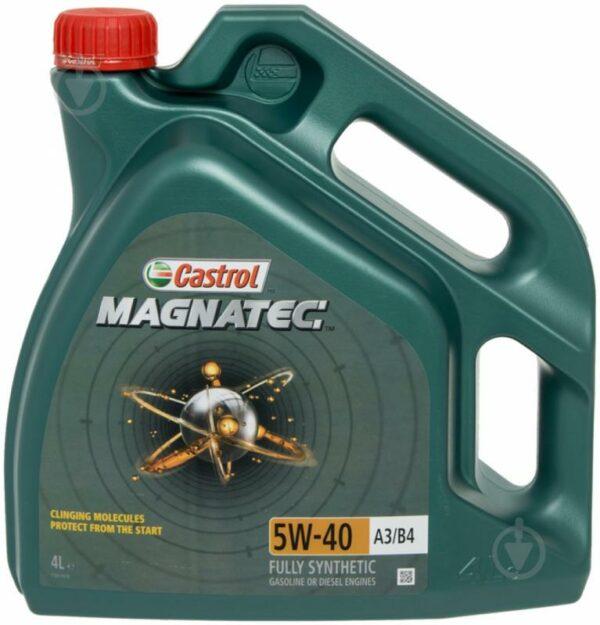 Масло моторное Castrol Magnatec A3/B4 5w40 4л
