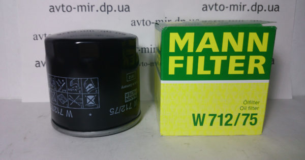 Фильтр масляный Lanos, Aveo MANN