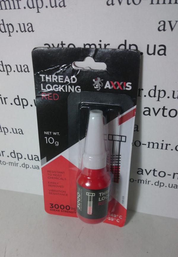 Фиксатор резьбы неудаляемый (красный) 10г Axxis
