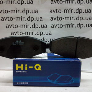 Тормозные колодки передние Lanos, Sens R13 Hi-q