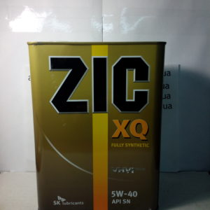 Масло моторное ZIC XQ 5w-40 4л