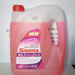 Антифриз G12 -40° 5л Sibiria