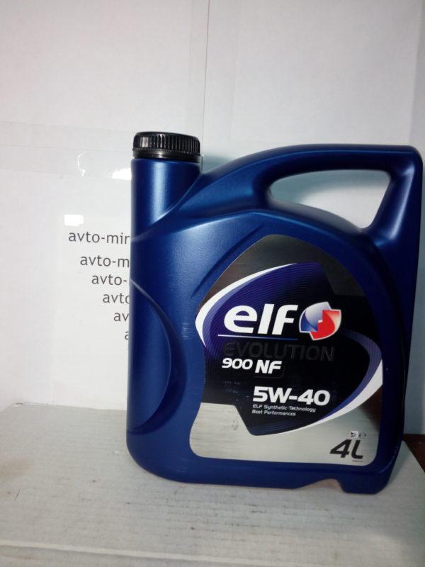 Масло моторное Elf Evolution 900 NF 5w-40 4л