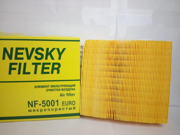 Фильтр воздушный ВАЗ 2110,1118,2170,2123 с сеткой Невский