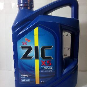 Масло моторное X5 10w40 4л Zic