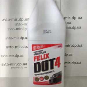 Тормозная жидкость DOT-4 910ml Felix