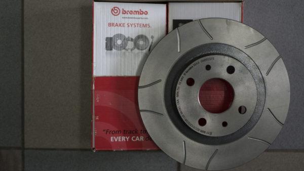 Диск тормозной передний ВАЗ 2110-2112, 2170, 1118 Калина Гранта Приора R14 MAX Brembo