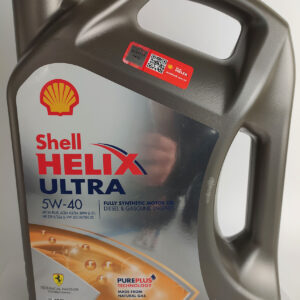 Масло моторное Shell Ultra 5W-40 4л