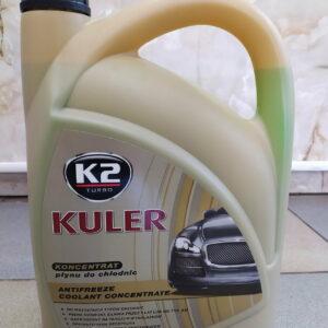 Антифриз зелёный концентрат Kuler 5л K2