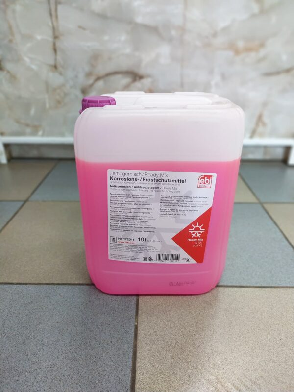 Антифриз фиолетовый Ready Mix -35C G12+ 10л Febi