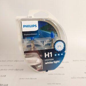 Лампа накаливания H1 Diamond Vision 5000K Philips